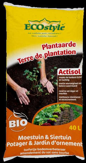 Ecostyle Plantaarde moestuin 40L