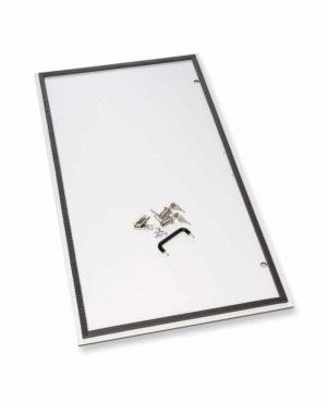 Scharnierdeur met sloten – Bonanza Tafelmodel