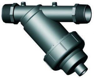 """fld filter 100 micron 1"""" groot model + kap"""