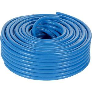 luchtslang blauw transparant 50 meter